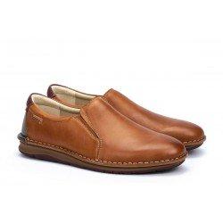 Zapatos Mocasines Hombre Pikolinos Navas M7T-3028 Brandy
