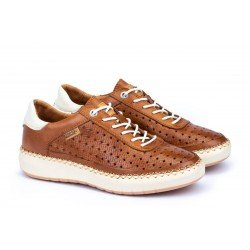 Zapatos Mujer Pikolinos Mesina W6B-6813 Cuero Brandy