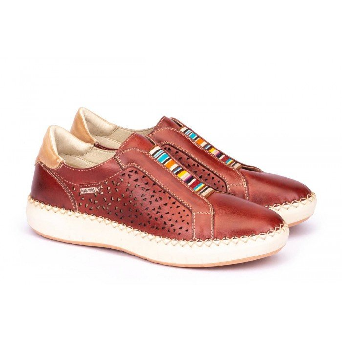 Zapatos Deportivos Pikolinos Mesina W6B-6906 Rojo Sandía