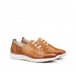 Zapatos Deportivos Mujer Dorking Silver D8229 Camel