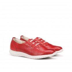 Zapatos Deportivos Mujer Dorking Silver D8229 Rojo
