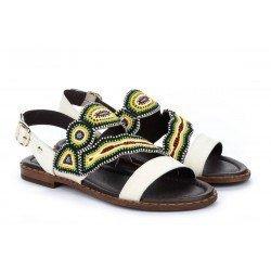 Sandalias Mujer Pikolinos Algar W0X-MA0647 Nata