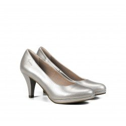 Zapatos Salón Mujer Dorking Azahara D7118 Argento