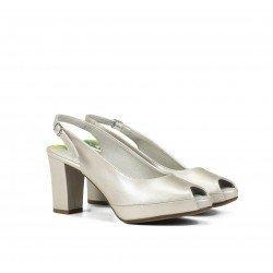 Zapatos Salón Mujer Dorking Bliss D7830 Natural