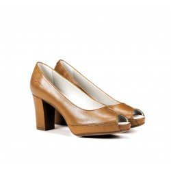 Zapatos Salón Mujer Dorking Bliss D7829 Cognac