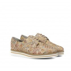 Zapatos Mujer Dorking  Romy D7850 Salmón Estampado