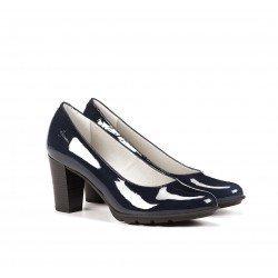 Zapatos Salón Mujer Dorking Rubi D6661 Marino