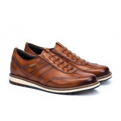 Zapatos Hombre Pikolinos Berna M8J-6097 Brandy