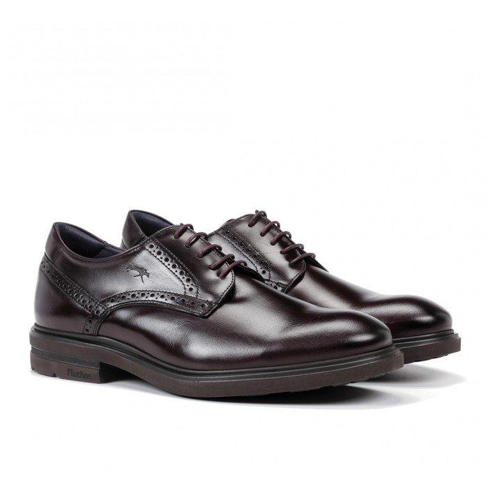 Zapatos Hombre Fluchos Belgas F0630 Burdeos