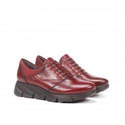 Zapatos Mujer Fluchos Bona F1357 Burdeos