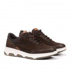 Zapatos Deportivos Hombre Fluchos Bonny F1348 Café