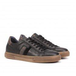 Zapatos Hombre Fluchos Niko F1337 Negro