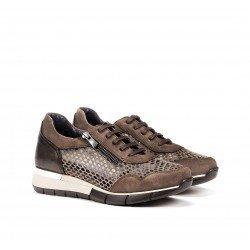 Zapatos Mujer Dorking Xanet D8678 Marrón Fango