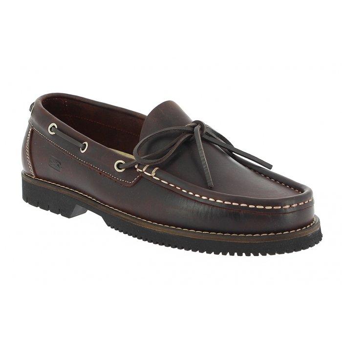 Fluchos Zapatos de Cordones Para Hombre, Marrón (Café), 43