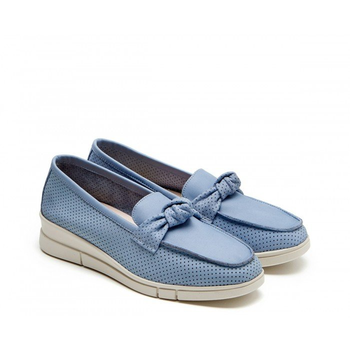 Zapatos Mujer 24 Hrs 24817  Celeste