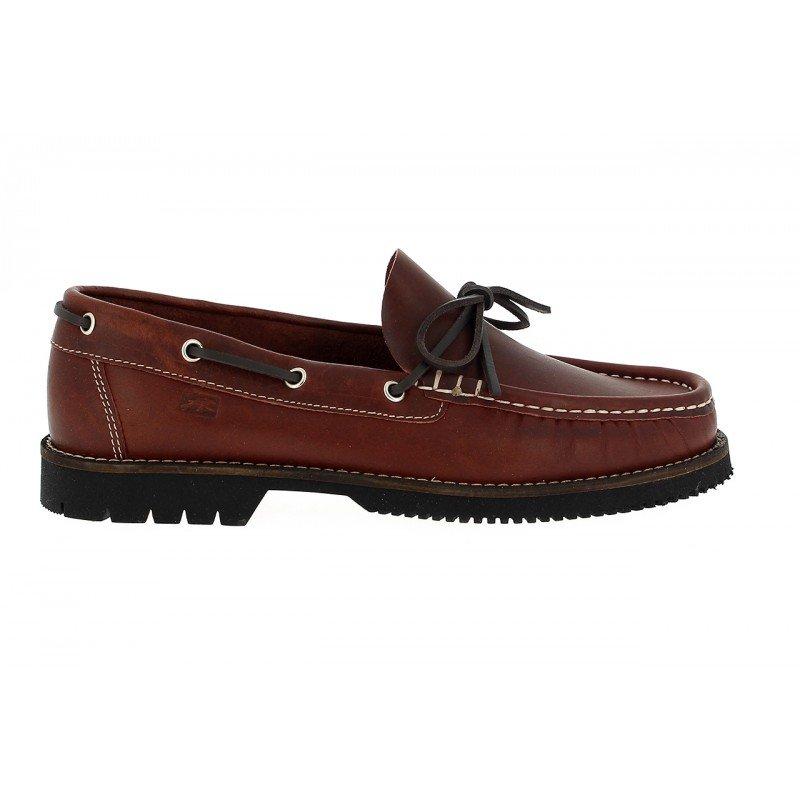c414f283 Zapatos de hombre Fluchos piel engrasada color burdeos línea Corzo.