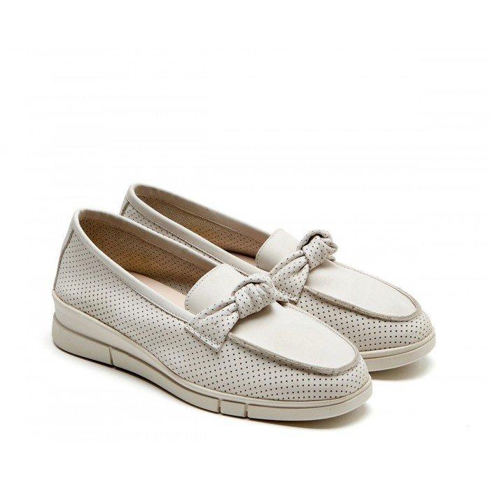 Zapatos Mujer 24 Hrs 24817 Crema