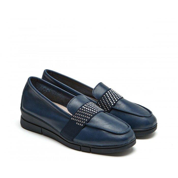 Zapatos Mujer 24 Hrs 24816 Azul Marino
