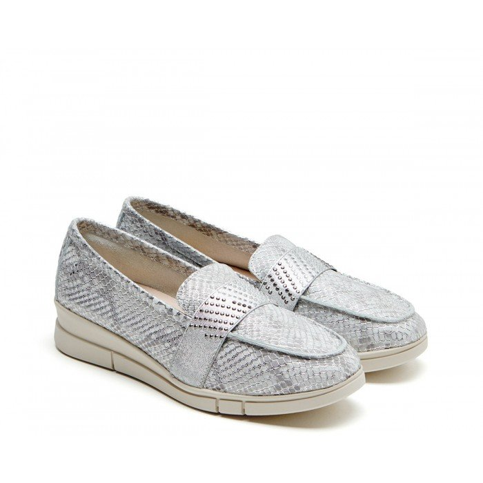 Zapatos Mujer 24 Hrs 24816 Plata