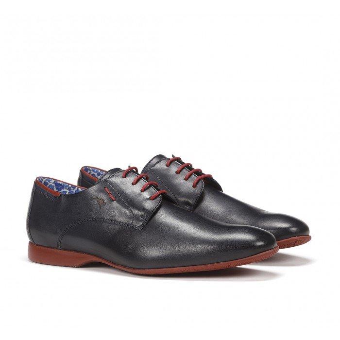 Zapatos Hombre Fluchos Vesubio 9353 Habana Marino