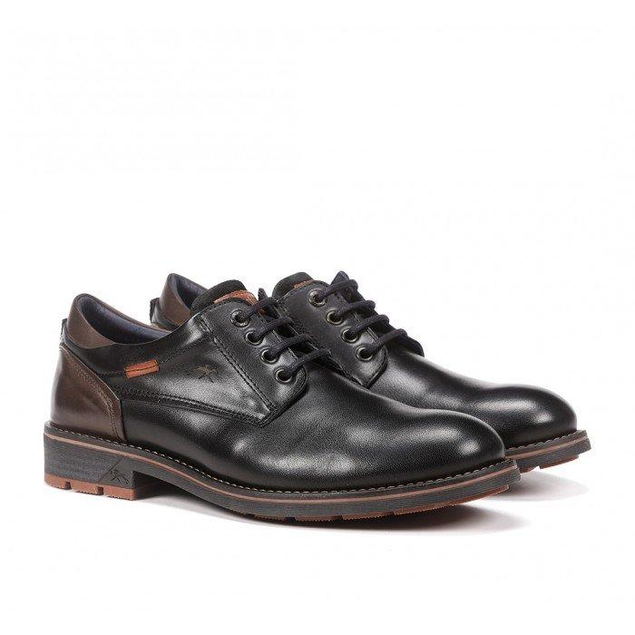 Zapatos Hombre Fluchos Terry F1340 Negro