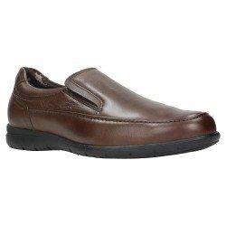 Zapatos Hombre Mocasín Fluchos Luca 8499 Marrón Café
