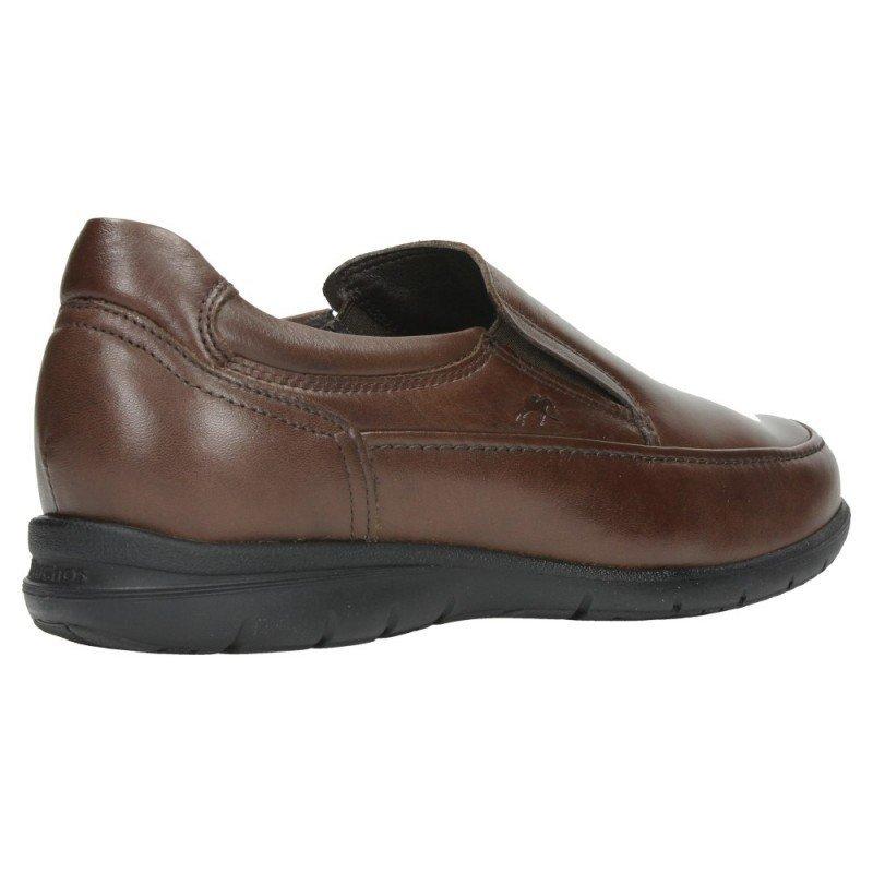 872592f5 Zapatos de hombre Fluchos Luca 8499 de piel Ave color marrón café.
