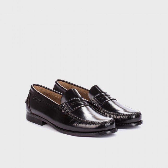 Zapatos Mocasines Hombre Martinelli Alcalá A101-0011AYM Negro