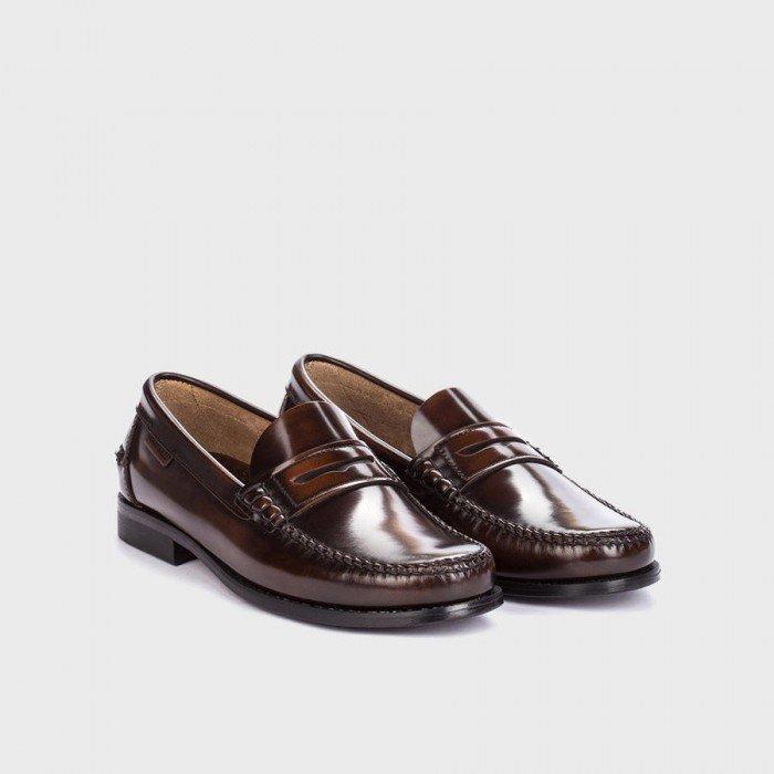 Zapatos Mocasines Martinelli Alcala A101-0011AYM Cuero