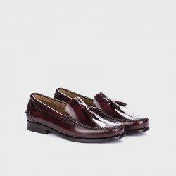 Zapatos mocasines hombre Martinelli Alcalá A101-0016 Burdeos