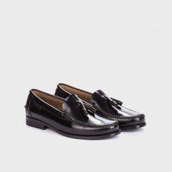 Zapatos castellanos hombre Martinelli Alcalá  A101-0016 Negro.