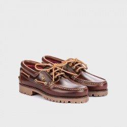 Zapatos Naúticos Hombre Martinelli Austin 1285-1585PYP Marrón