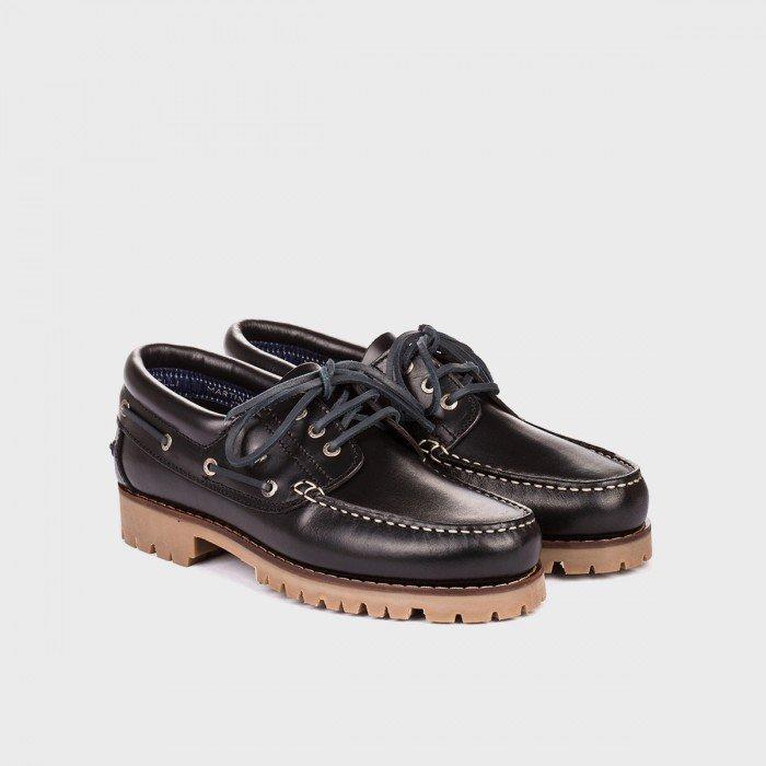 Zapatos Naúticos Hombre Martinelli Austin 1285-1585PYP Negro