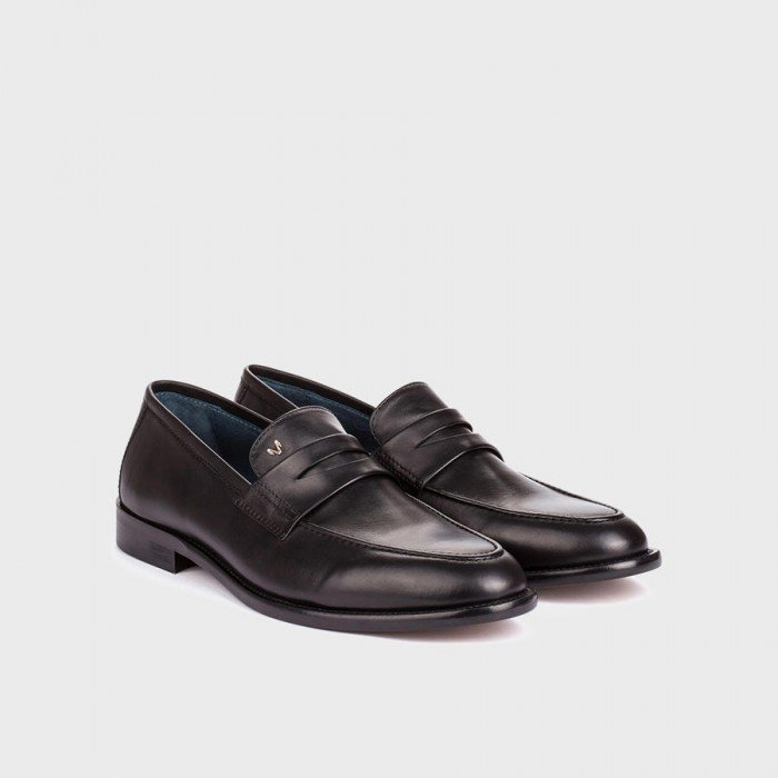 Zapatos Mocasines Hombre Martinelli Fulham 1342-2007Z Negro