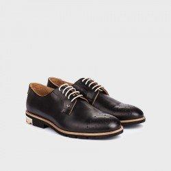 Zapatos blucher hombre Martinelli Dario 1351-0358PYP Negro