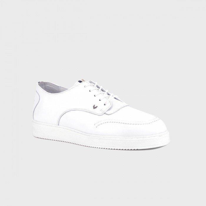 Zapatos hombre deportivos Martinelli Howard 1343-2217PYP Blanco.